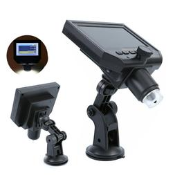 1-600X Digital Microscope Zoom LED 3.6MP HD Camera Video Rec