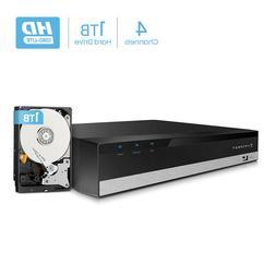 Amcrest 1080-Lite 4CH HD Video Security DVR Digital Recorder