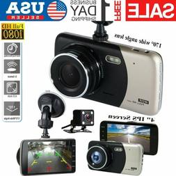 "1080P HD 4"" Car DVR Dash Vehicle Camera Video Recorder Cam N"