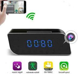 1080P HD WiFi IP Hidden Spy Camera Video Recorder Wireless I