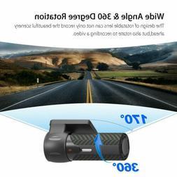 1080P HP WiFi Dash Cam Car DVR Camera Parking Monitoring Dri