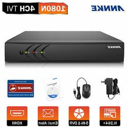 ANNKE 1080P 4CH DVR 5in1 Video Recorder DVR Smart Home Secur