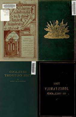 150 RARE BOOKS ON IRELAND IRISH HISTORY GENEALOGY ANCESTRY R