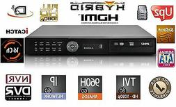 16 Channels HD Hybrid Security Recorder/NVR TVI/960H/IP/Clou