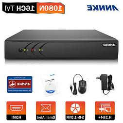 ANNKE 16CH 1080P Video Recorder 5in1 H.264+ Security DVR for