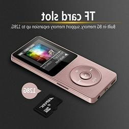 1Pc Portable 8GB Rechargeable Audio Recorder MP3 Player for