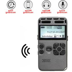 1x64GB Rechargeable LCD Digital Audio Sound Voice Recorder D