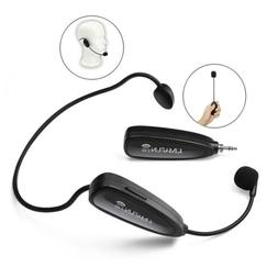 2.4G Wireless Headset Handheld Microphone  2in1 with Voice A