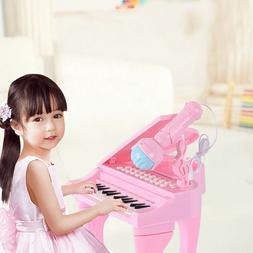 Toddler Mini Tripod 25 Keys Recording Educational Paino With