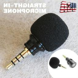 3.5mm Mini Stereo Microphone Mic For Recorder Smart Phone Ce