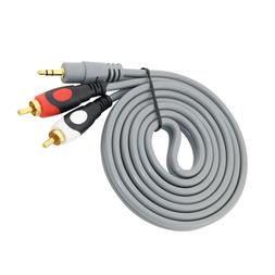 3.5mm to 2 RCA Audio Y Splitter Cable For Roland CD-2 CD-2E