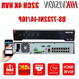 Hikvision 32CH 16PoE Up 12MP DS-7732NI-I4/16P H265+ NVR Netw