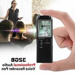 32G Digital Mini  Voice Sound Recorder Activated Small Handh