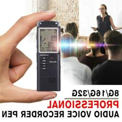 32G Voice Activated Mini Spy Digital Sound Audio Recorder Di
