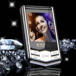 "32GB MP4 MP3 Music Media Video Player Slim 1.8"" LCD FM-Radio"