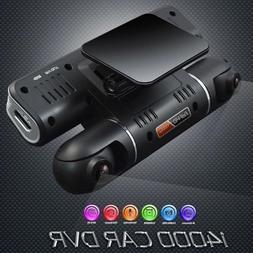 360° HD 1080P Dual Lens Car DVR Driving Video Recorder Camc