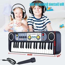 37 Keys Music Electronic Keyboard Kid Piano Organ Record Pla