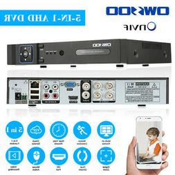 4 8channel h 265 1080p 5in1 nvr