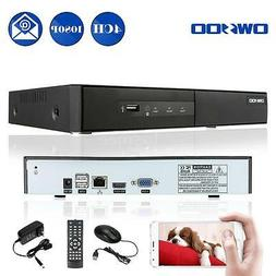 OWSOO 4CH Channel 1080P H.264 P2P NVR Network Video Recorder