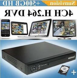 4CH Channel ES-5004B Sunvision  H.264 Digital Video Recorder