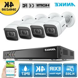 ANNKE H.265+ 5IN1 Ultra HD 8MP 8CH DVR 4K Video CCTV Securit