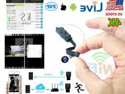 4K Security camera WIFI IP wireless CAM pin hole network rec