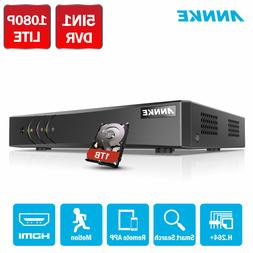 ANNKE 5in1 8CH HD 1080P Lite Security DVR Video Recorder Hom