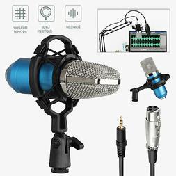 Condenser Microphone Kit Professional Broadcasting Studio Re
