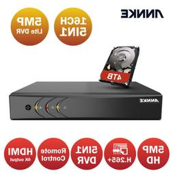 ANNKE 8+2CH Channel 5IN1 DVR Recorder for CCTV Home Surveill