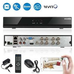 KKmoon 8CH 1080P NVR AHD DVR 5In1 Video Recorder Cloud Netwo