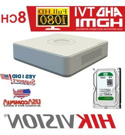 HIKVISION 8CH DS-7108HGHI-F1/N 1TB H.264 /H.264+AHD-TVI DVR