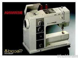 BERNINA 930 RECORD INSTRUCTION MANUAL / USER'S GUIDE * CD  o
