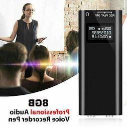 96 Hours Digital Voice Activated Recorder Mini Audio Magneti