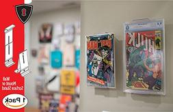 Comic Mount Comic Book Shelf Stand and Wall Mount, Invisible