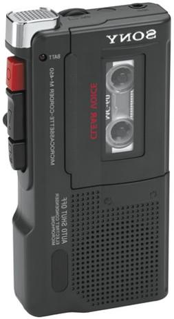 Sony M-450 Microcassette Recorder with 30 Hours of Battery L