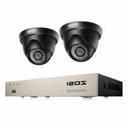 ZOSI H.265+ 8 Channel 5MP Lite CCTV DVR 2 1080P Outdoor Secu