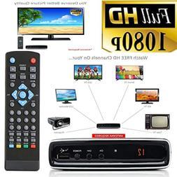 Analog To Digital TV Converter Box RCA AV Recording Watching