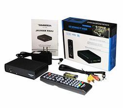 Analog To Digital TV Television Converter Box W DVR Recordin