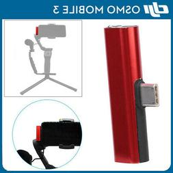 Audio Adapter Head with Microphone Recording Transfer Audio