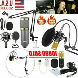 bm 800 professional microphone mic kit broadcasting