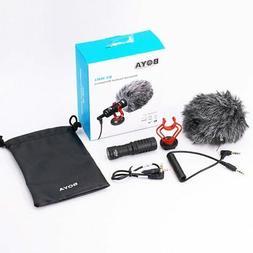 BOYA BY-MM1 Video Record Microphone Compact VS Rode VideoMic
