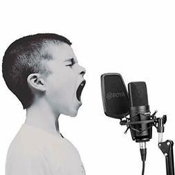 BOYA Large Diaphragm Cardioid Condenser Microphone Studio So