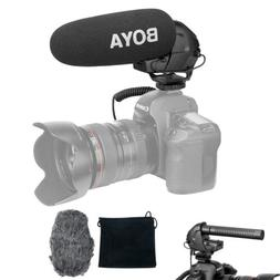 BOYA BY-BM3030 Microphone Stereo Connector Video Audio Recor