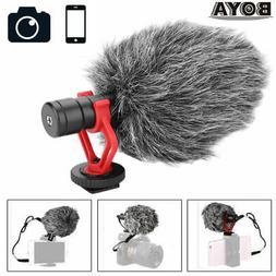 BOYA BY-MM1 Cardiod Shotgun Microphone Video Mic for Smartph