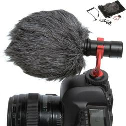 BOYA BY-MM1 Stereo Shotgun Camcorder Microphone Recording Ca