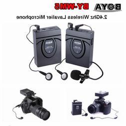 BOYA BY-WM5 Studio Recorder Wireless Lavalier Lapel Micropho