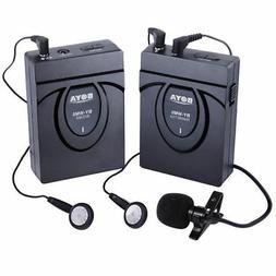 BOYA BY-WM5 Wireless Lavalier Microphone Audio Recorder for