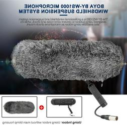BOYA BY-WS1000 Shotgun Microphone Blimps With XLR Cable For