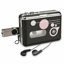 Cassette Tape to MP3 Converter Player Digital Audio Music Re