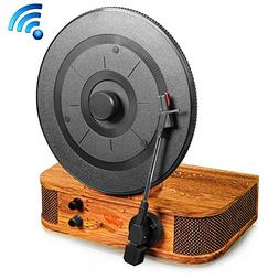 Pyle Classic Vintage Style Vertical/Standing Bluetooth Turnt